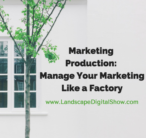 Marketing Production: Manage Your Marketing Like a Factory