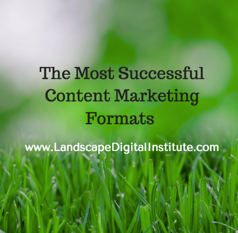 The Most Successful Content Marketing Formats
