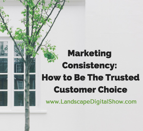 Marketing Consistency: How to Be The Trusted Customer Choice